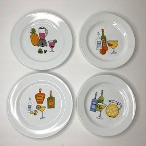 MARGARITA Signature Snack Plates (Set of four)